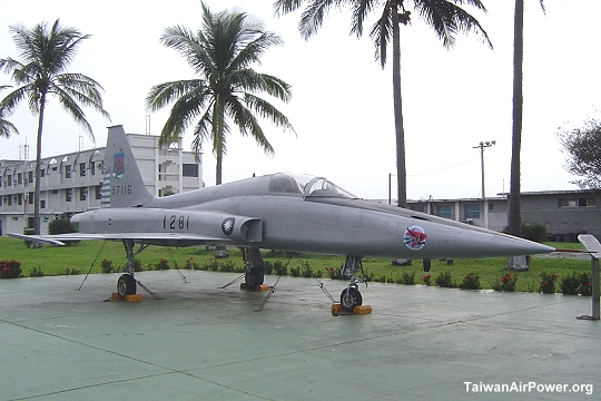 F-5A preserved at Taitung AFB