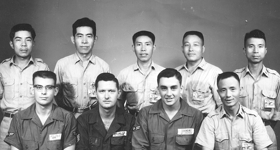 Roy Colding and Photo Technical Squadron members