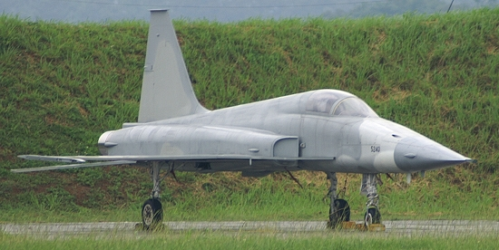 F-5 decoy at CCK